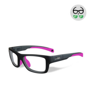 WileyX Crush Matte Grey / Deep Pink 10-16 jr