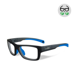 WileyX Crush Matte Grey / Blue 10 - 16 jr