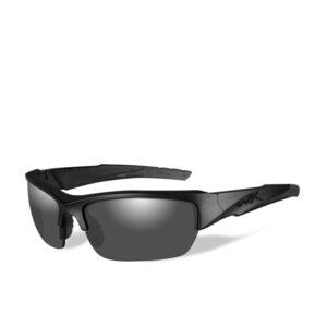 WileyX Valor Mat Zwart Smoke Grey