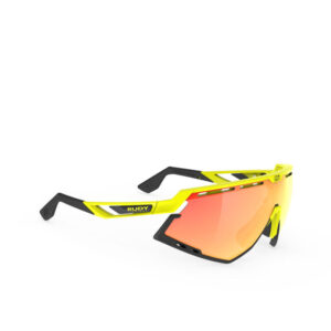 Rudy Project Defender - Multilaser Orange - Yellow Fluo Gloss / Bumpers Black